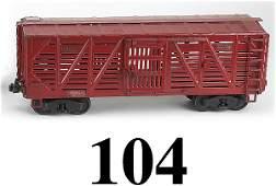 104 Buddy L Outdoor Railroad Cattle Car