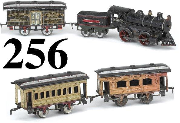 256: Ives O Gauge LVE Empress Passenger Set