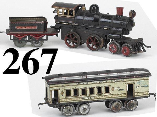 267: Ives O Gauge #25 Combine Set