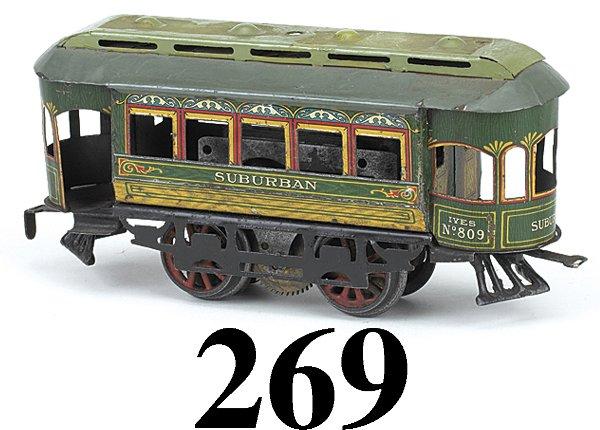 269: Ives #809 Suburban Trolley