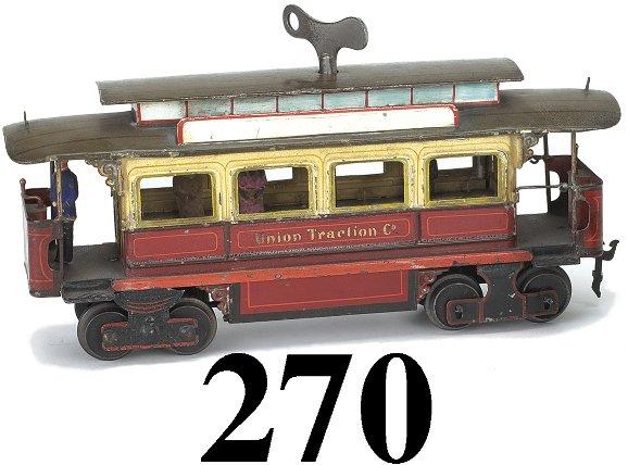 270: Marklin Gauge I Union Traction Co. Trolley