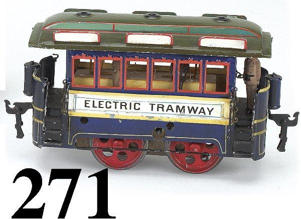 271: Marklin Electric Tramway Trolley