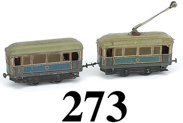 273: Carette #48 Trolley & Trailer