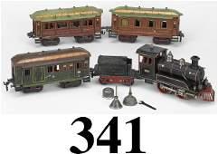 341: Marklin Gauge I Live Steam Passenger Set