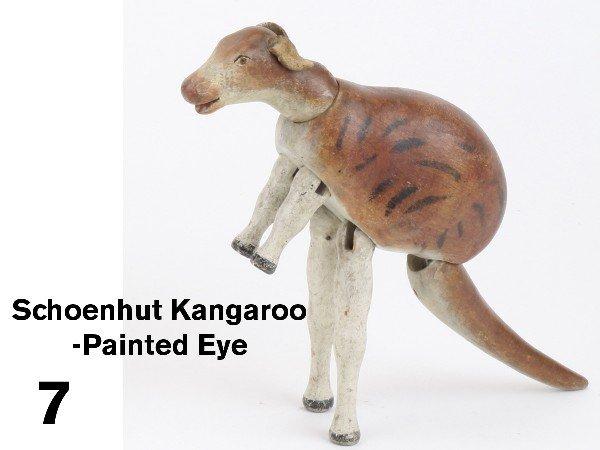 7: Schoenhut Kangaroo-Painted Eye