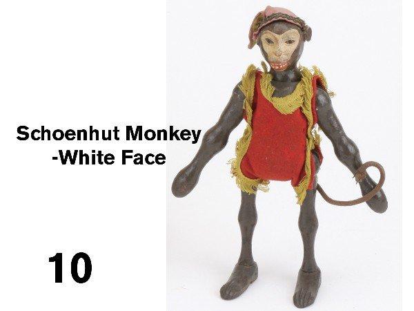 10: Schoenhut Monkey-White Face