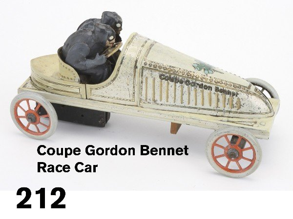 212: Coupe Gordon Bennet Race Car