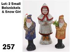 257 Small Belsnickels  Snow Girl