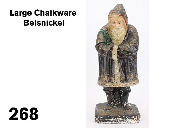 268: Large Chalkware Belsnickel