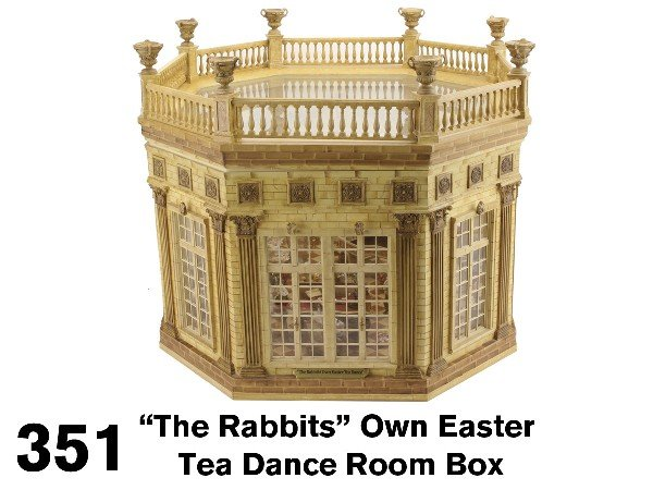 351: The Rabbits Own Easter Tea Dance Room Box