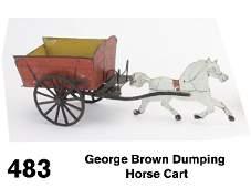 483 George Brown Dumping Horse Cart