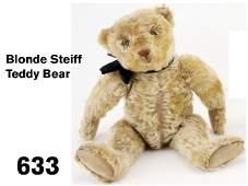 633: Blonde Steiff Teddy Bear