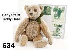 634: Early Steiff Teddy Bear