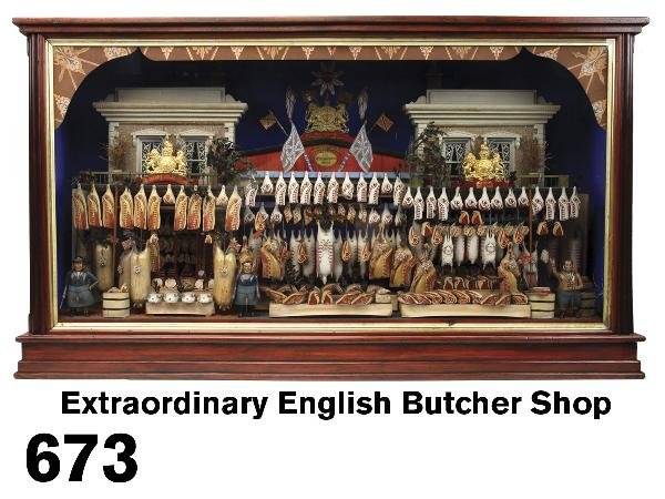 673: Extraordinary English Butcher Shop