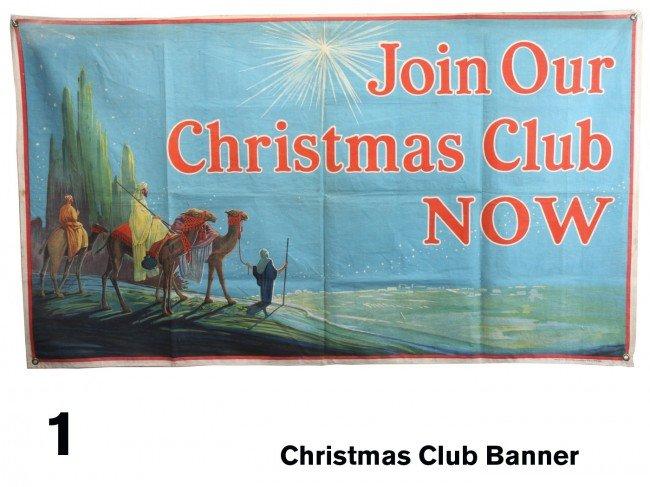1: Christmas Club Banner