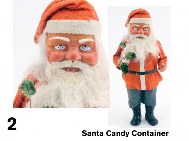 2: Santa Candy Container