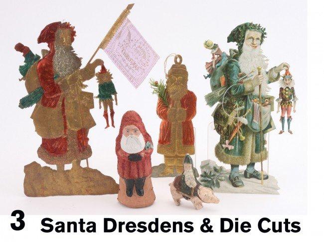 3: Santa Dresdens & Die Cuts