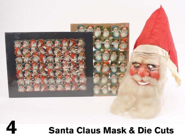 4: Santa Claus Mask & Die Cuts