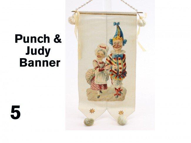 5: Punch & Judy Banner