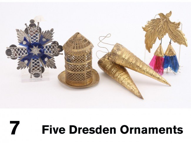 7: Five Dresden Ornaments