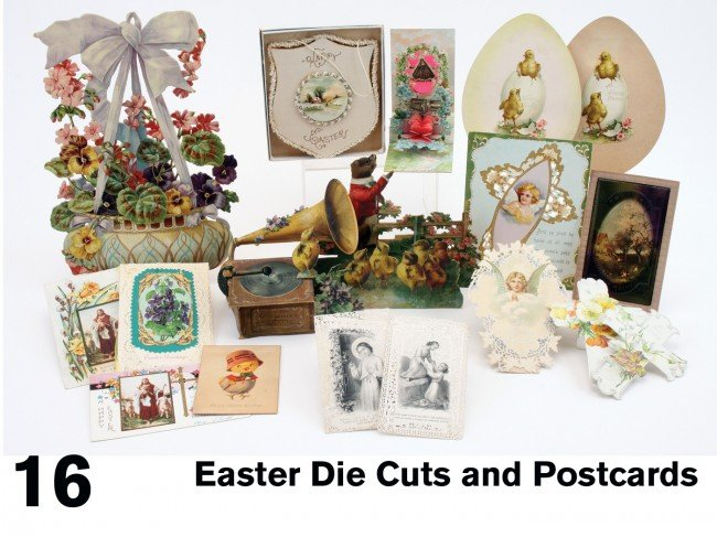 16: Easter Die Cuts and Postcards