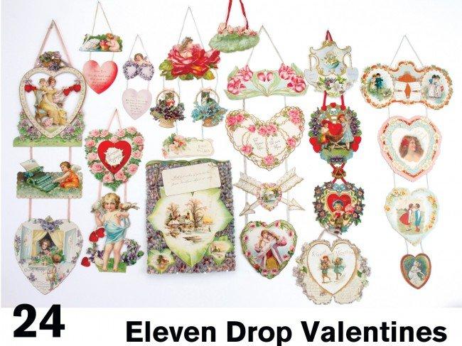 24: Eleven Drop Valentines