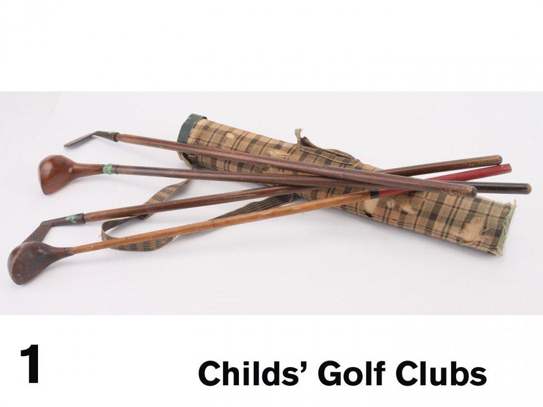 1: Child's Golf Clubs