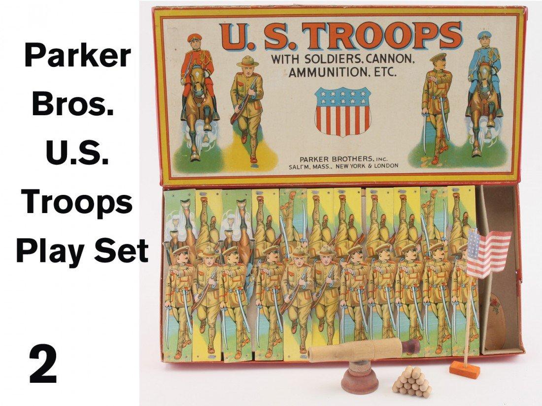 2: Parker Bros. U.S. Troops Play Set