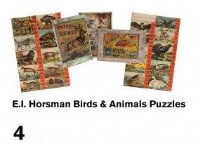 E.I. Horsman Birds & Animals Puzzles
