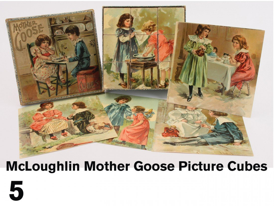 5: McLoughlin Mother Goose Picture Cubes