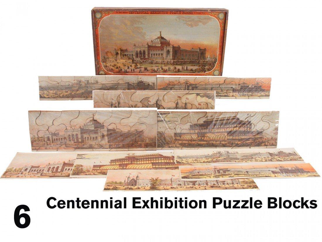 6: Centennial Exhibition Puzzle Blocks