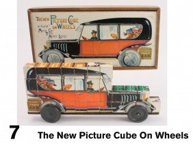 The New Picture Cube On Wheels