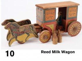 Reed Milk Wagon
