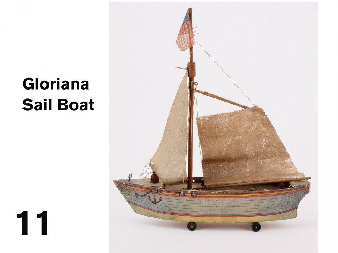 11: Gloriana Sail Boat