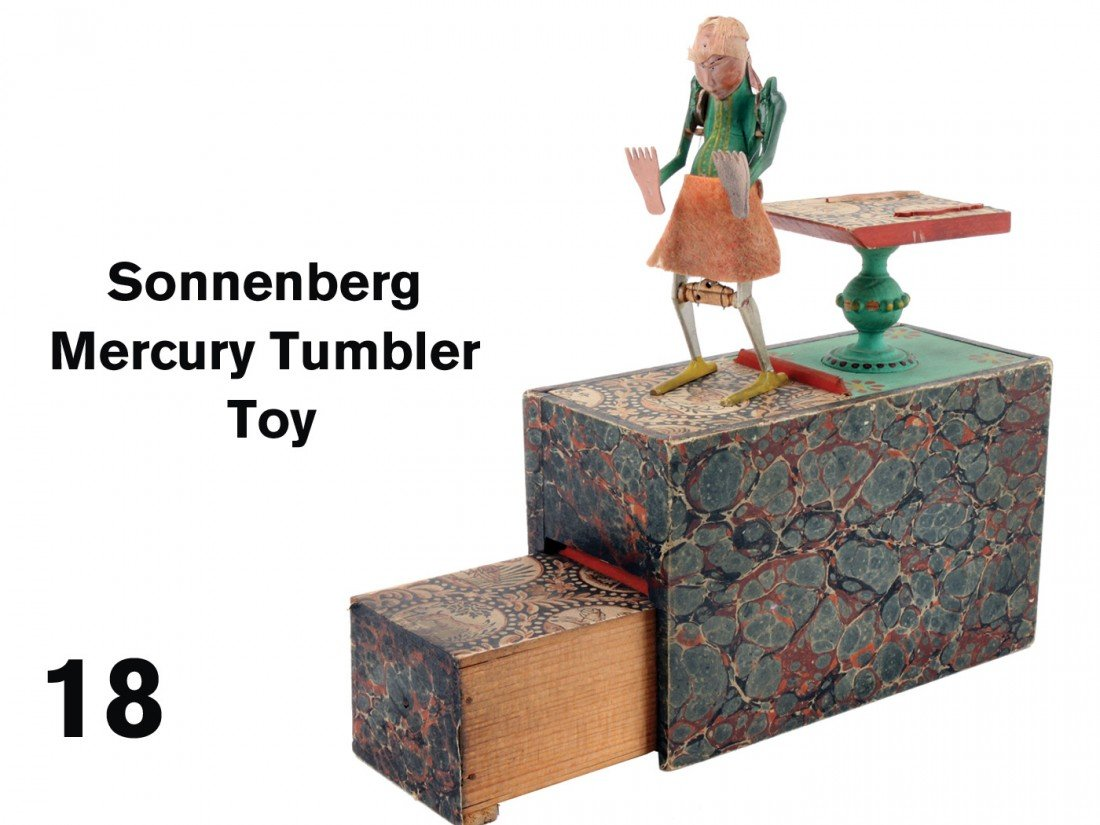 18: Sonnenberg Mercury Tumbler Toy