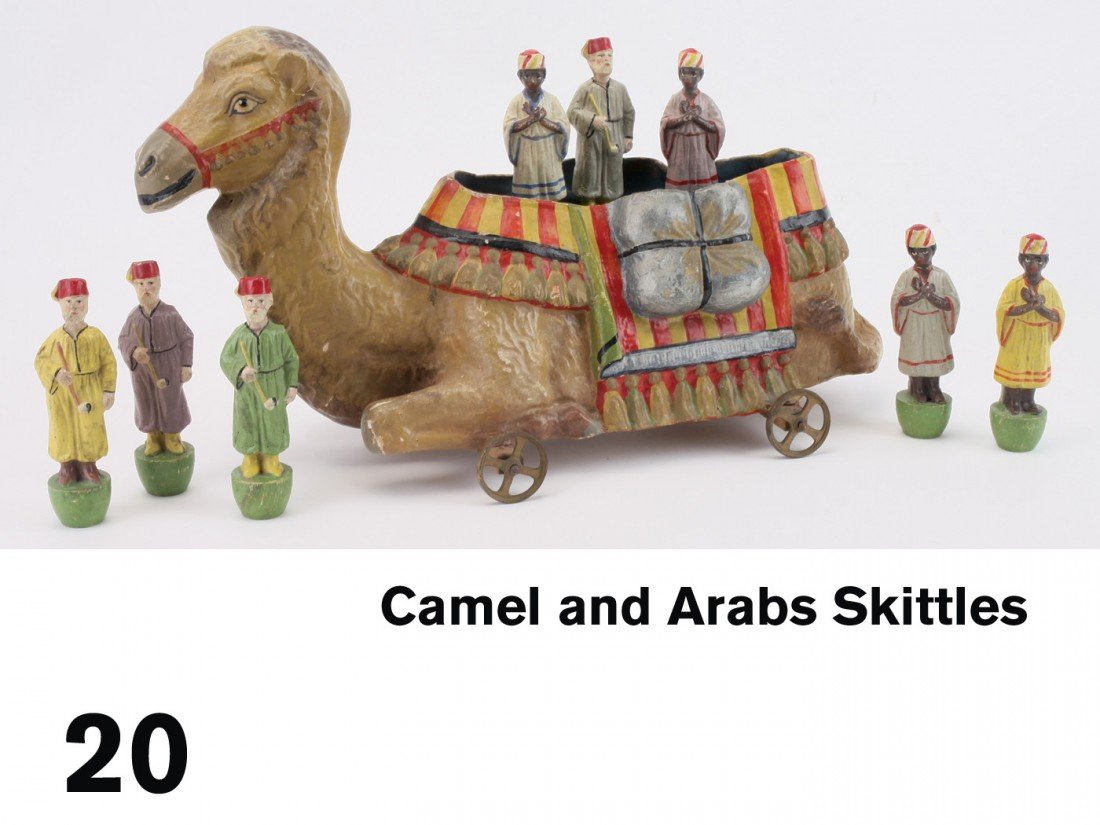 20: Camel and Arabs Skittles