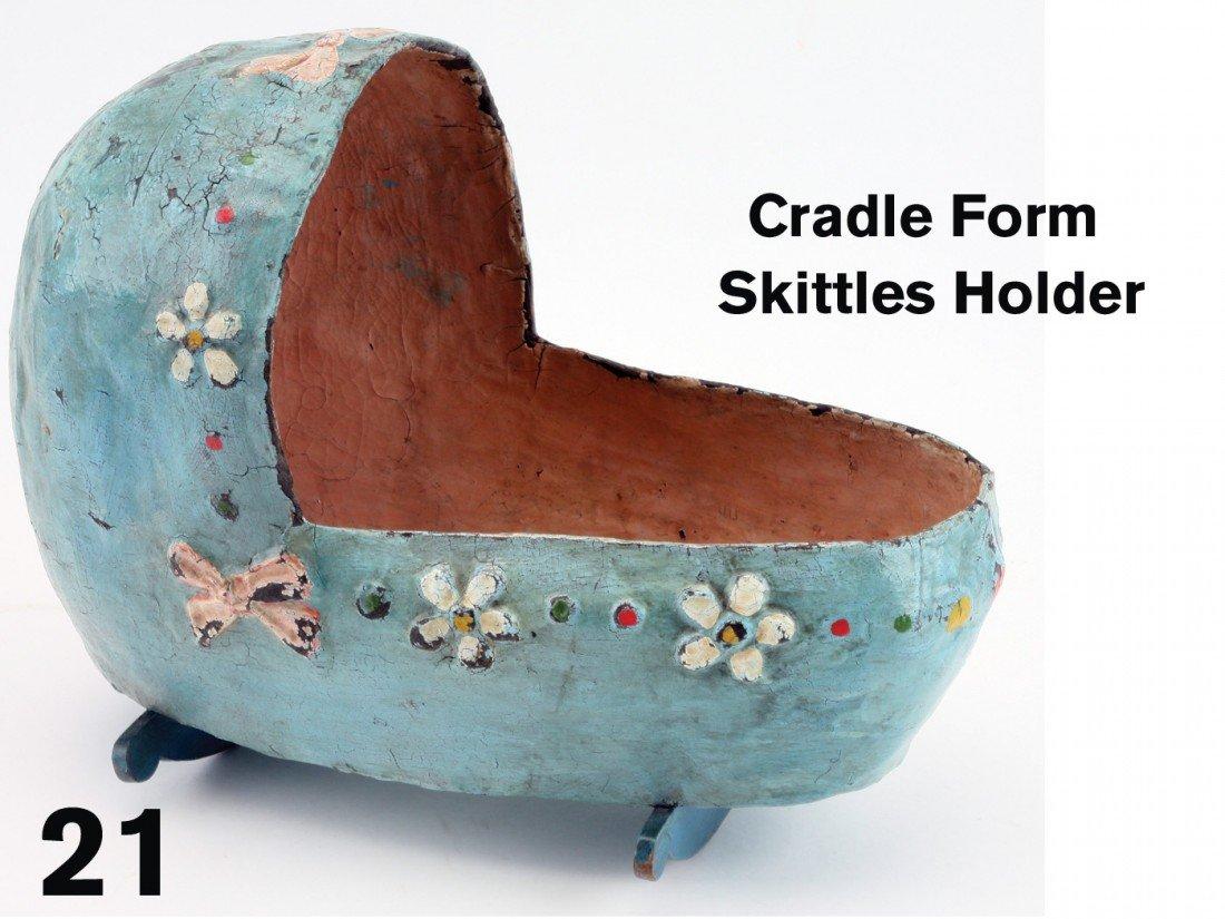 21: Cradle Form Skittles Holder