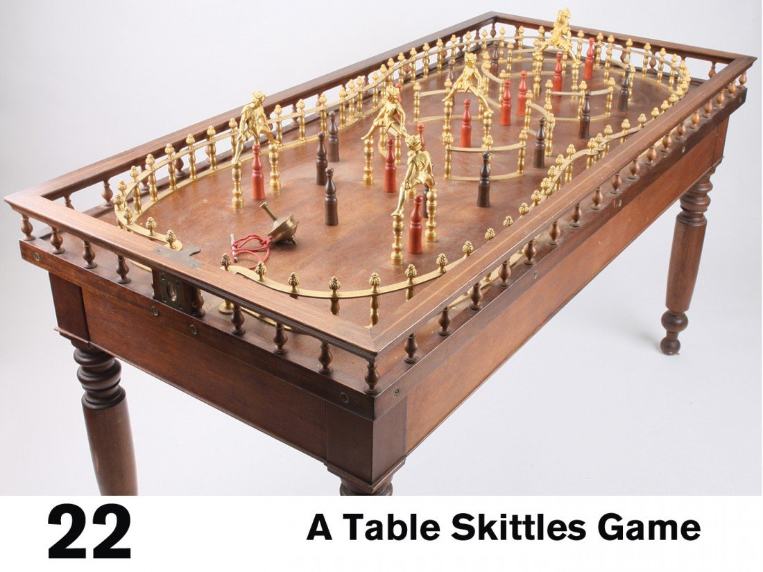 22: A Table Skittles Game