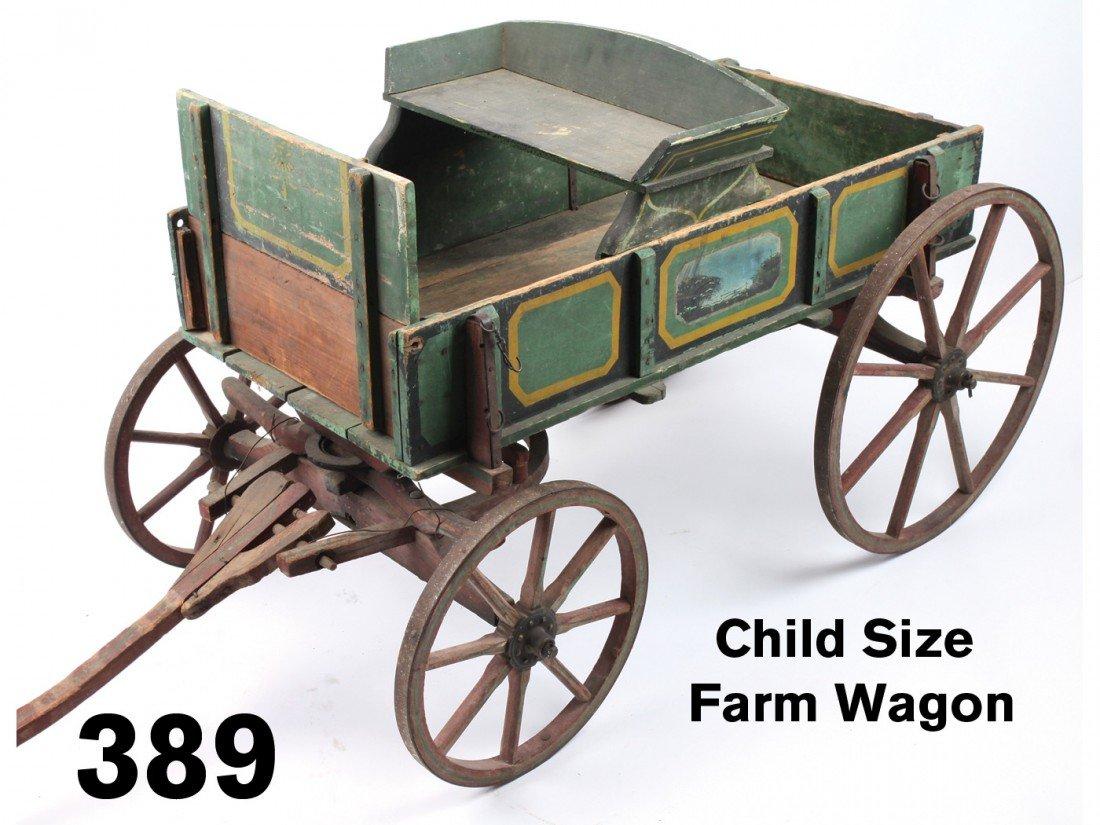 Child Size Farm Wagon