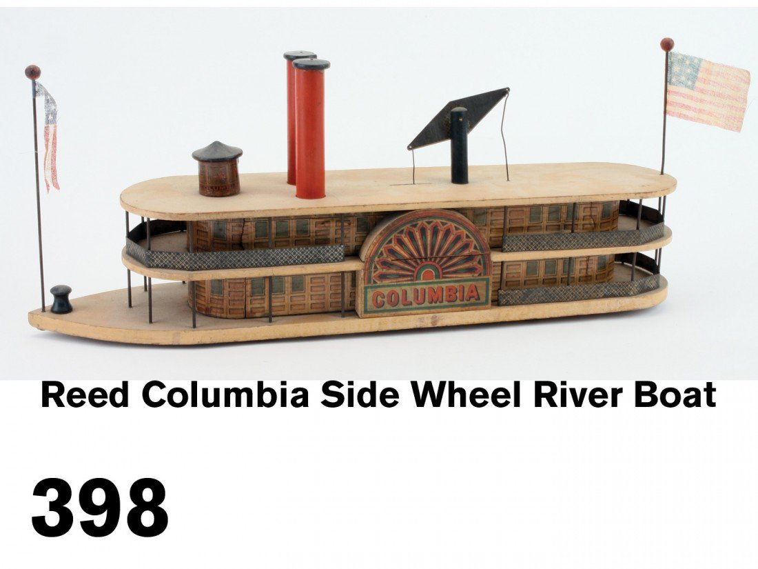 Reed Columbia Side Wheel River Boat