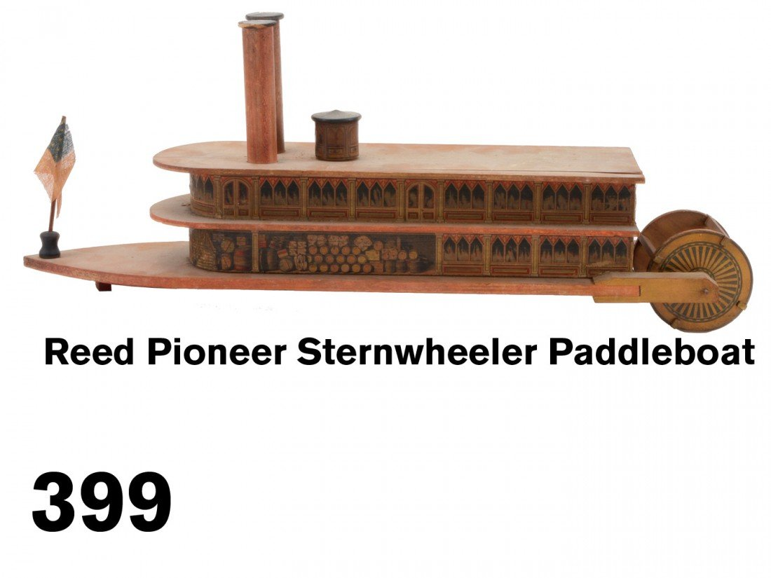Reed Pioneer Sternwheeler Paddleboat