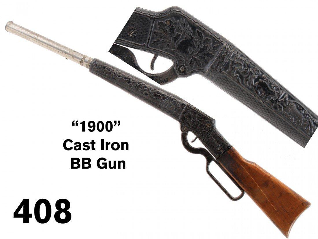 '1900' Cast Iron BB Gun