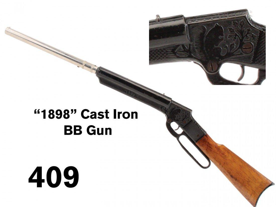 '1898' Cast Iron BB Gun