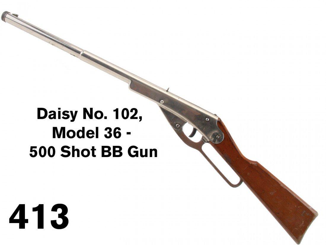 Daisy No. 102, Model 36 - 500 Shot BB Gun