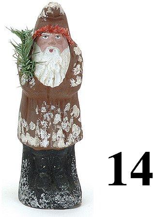 """14: Belsnickle-Brown Coat - 8"""""""