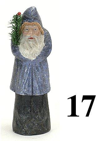 17: Belsnickle - blue coat - 10