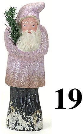 """19: Belsnickle - rose pink coat - 10"""""""