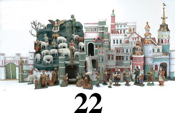 22: Large German Creche
