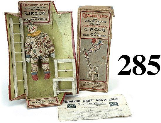 285: Schoenhut Cracker Jack Clown with Box