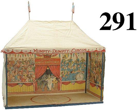 291: Schoenhut Circus Tent in Box